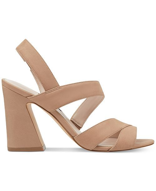 46ea60dc591 Nine West Nohemi Flare Heel Sandals Women Shoes in 2019 | Spring ...