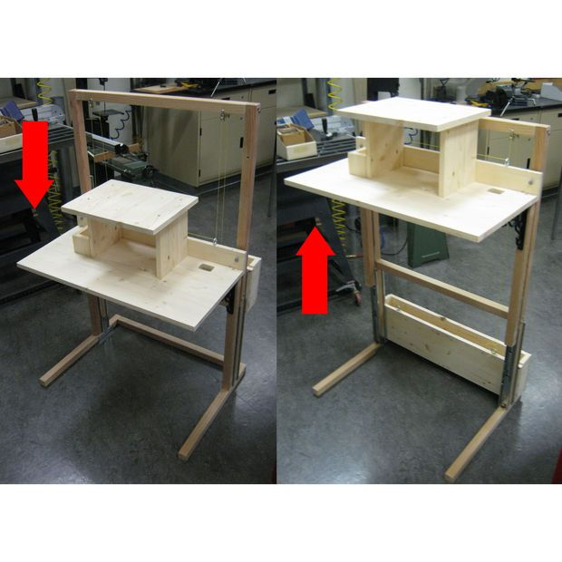 Standing Desk Woodworking Plans Woodworking Projects Amp Plans