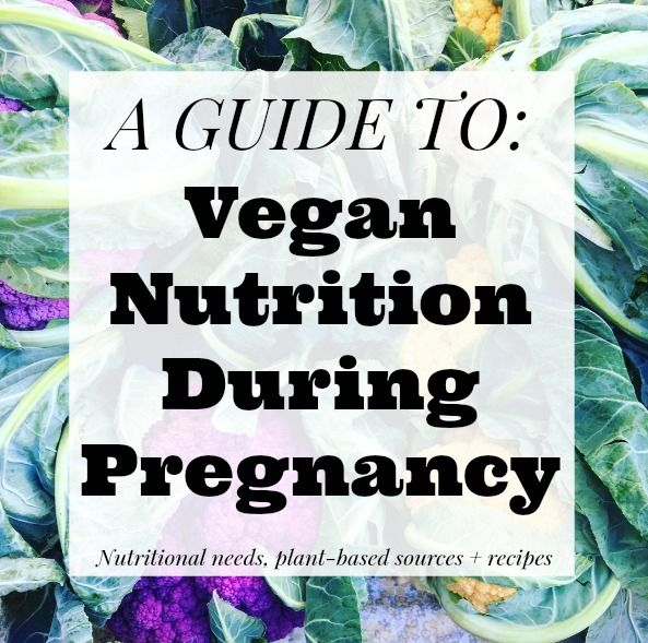 GUIDE: Vegan Nutrition During Pregnancy | The Friendly Fig