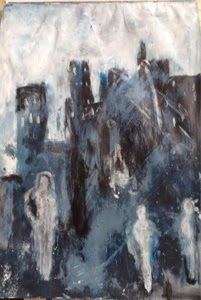 Ahovalli Art: Stormy night...
