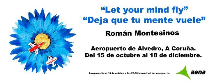 15 de octubre. Inauguración en el Aeropuerto de Alvedro. La Coruña