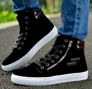 Men Winter Boots 2016 New Nubuck Leather Outdoor Waterproof Men Martin Boots British Ankle Boots Casual Shoes Man
