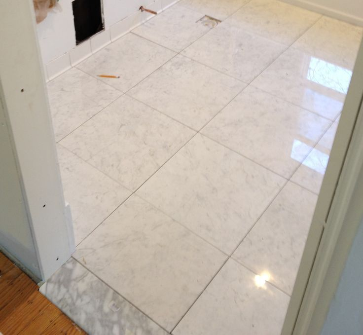 Renew Bathroom Tiles: Peronda Museum, 18x18, Polished, Porcelain, Bianca Carrara