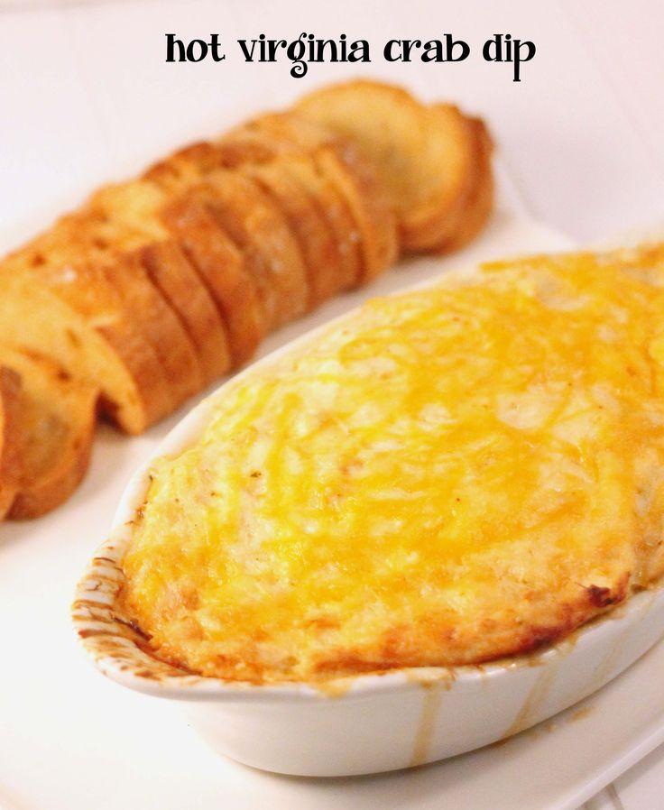 Hot Virginia Crab Dip. ☀CQ #southern http://www.pinterest.com ...