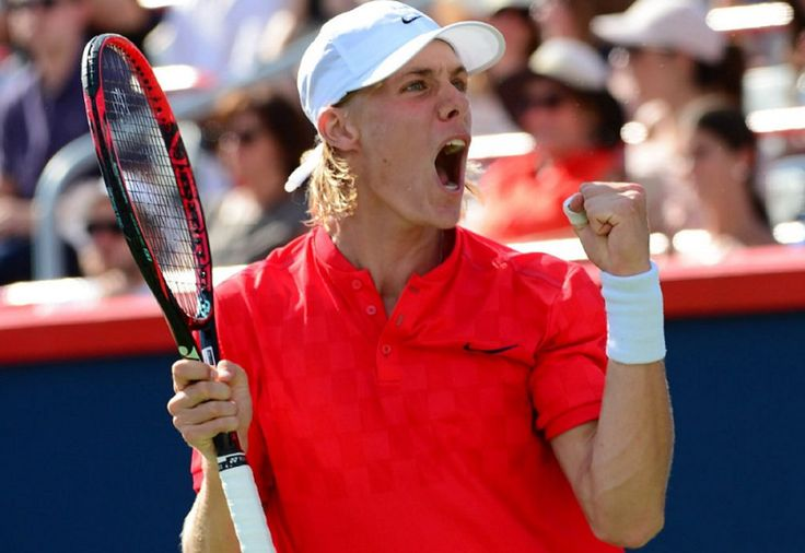 Canadian tennis // Rogers Cup 2017 (Day 2) // Picture : Denis Shapovalov (Copyright Paul Chiasson/The Canadian Press)