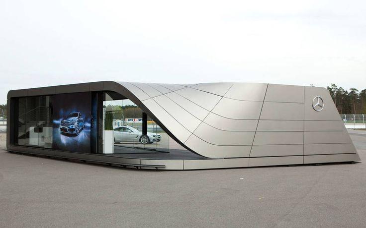 Mercedes Benz › Daimler AG - A-Klasse Pavillon