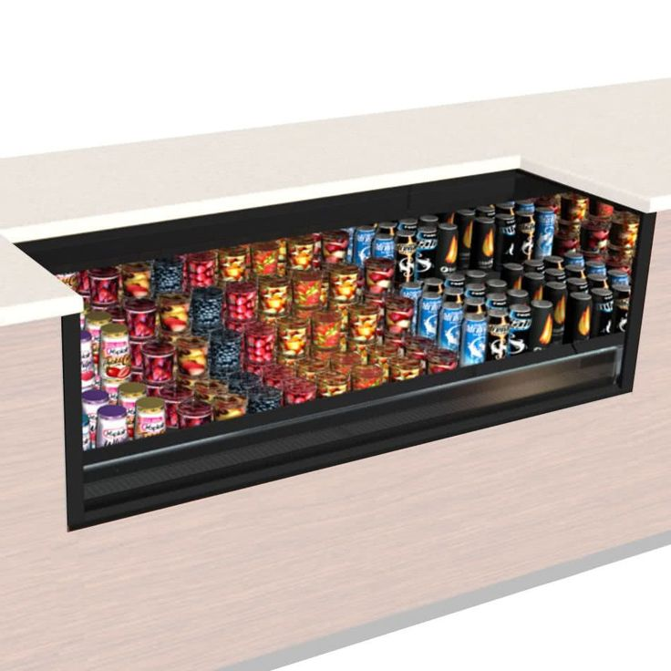 Structural Concepts Co43r Uc Qs Oasis Black 47 Undercounter Air