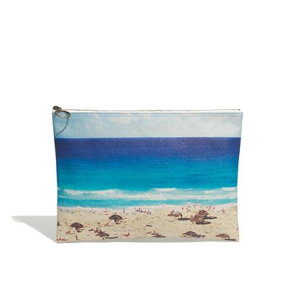 Madewell - Large Zip Pouch in Beachday
