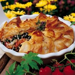 Spinach-Rice Phyllo Pie - Superstore - Recipes