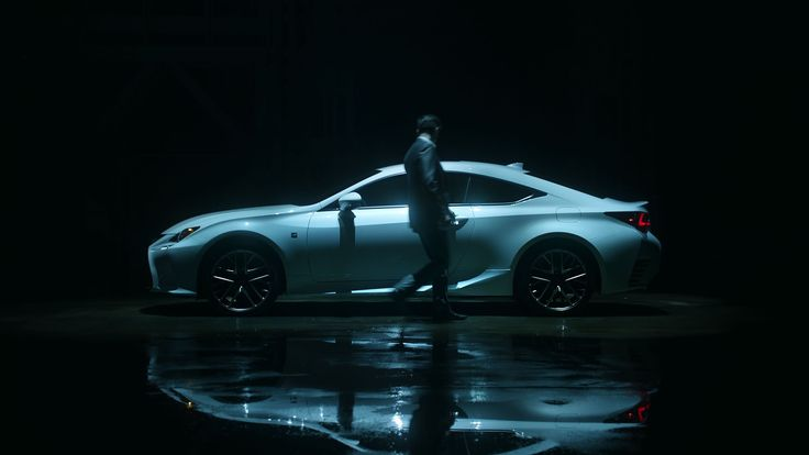 "Nothing in Moderation. Lexus RC Coupe ""Face-Off"" — The Extended Cut"