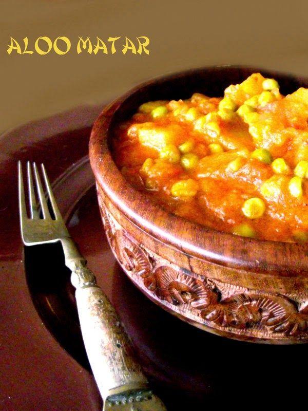 L'Emporio 21: Aloo Matar ovvero curry di patate e piselli e parlar d'amore