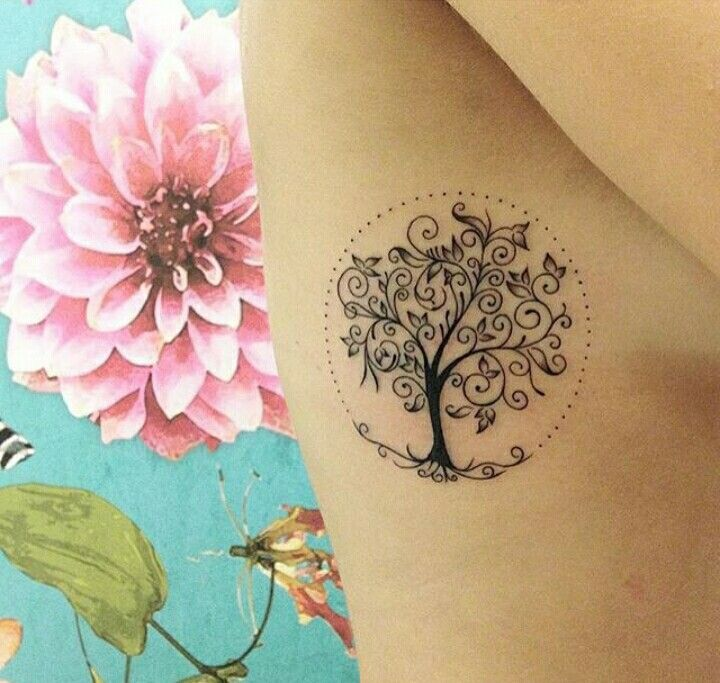 Tree of life - tattoo Pretty!!!! Need something them represents each family member on it too.