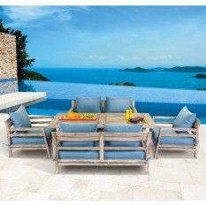 Santorini 5 Piece Dining Setting HUC5PCEOD1$2999 from Target