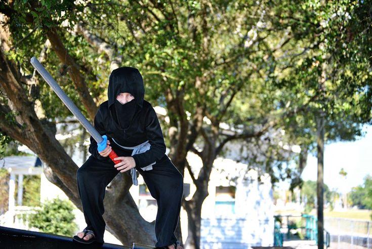 Handmade Ninja Costume :: Dandelion Drift