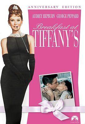 Breakfast at Tiffanys  DVD Audrey Hepburn, George Peppard, Patricia Neal, Buddy