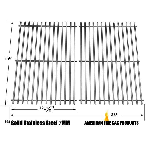 2 PACK STAINLESS STEEL COOKING GRIDS FOR GRILL MATE SR001-SB, MEMBERS MARK 04ANG, MONARCH04ALP GAS GRILL MODELS Fits Compatible Grill Mate Models : SR001-SB Read More @http://www.grillpartszone.com/shopexd.asp?id=35727&sid=37460