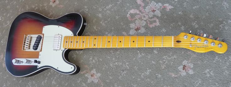 Andy Summers Telecaster I built using a Classic Vibe body, Maple neck and a Tonerider 59 HB pickup, plus a 4 way tele switch