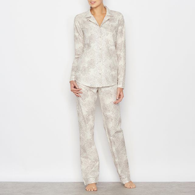 Pyjama imprimé manches longues