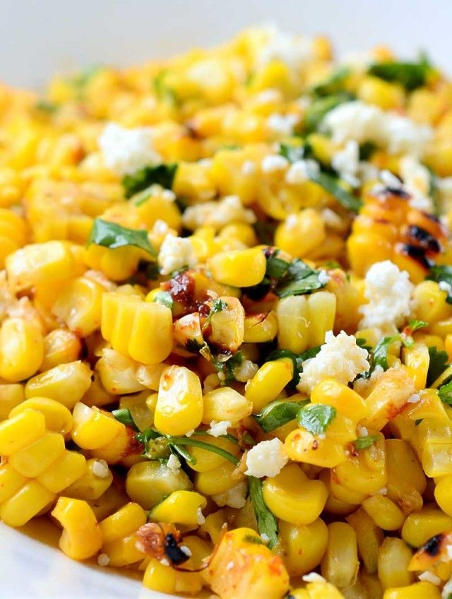 Chipotle Lime Grilled Corn Recipe #CincoDeMayo