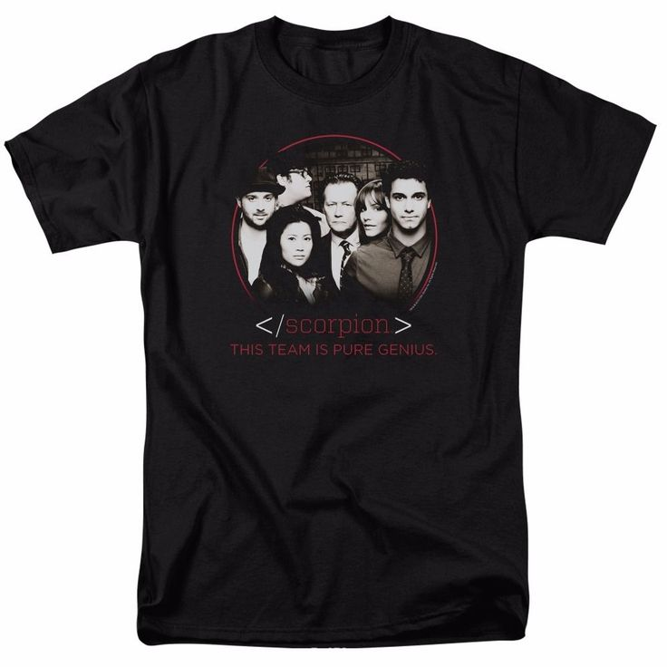 Scorpion TV Series Cast Licensed Adult Shirt S-5XL #TV #GraphicTee