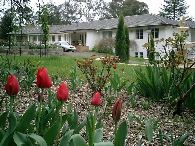 Menabillie Manor Front View: Menabillie Manor - Bed and Breakfast in Bowral
