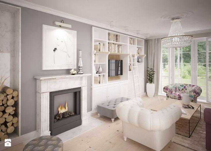 Salon - zdjęcie od GSG STUDIO | interiors & design