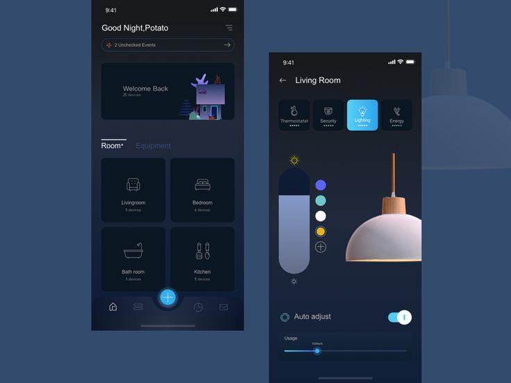 Smart home app 01