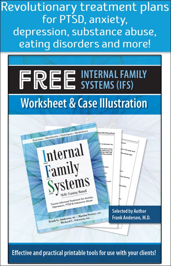 Free Internal Family Systems Ifs Worksheets Case Illustrations
