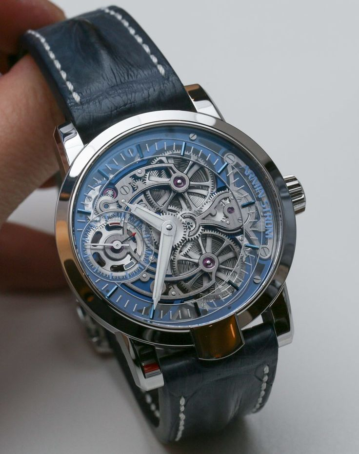 Armin Strom Skeleton Pure Watches Hands On   hands on
