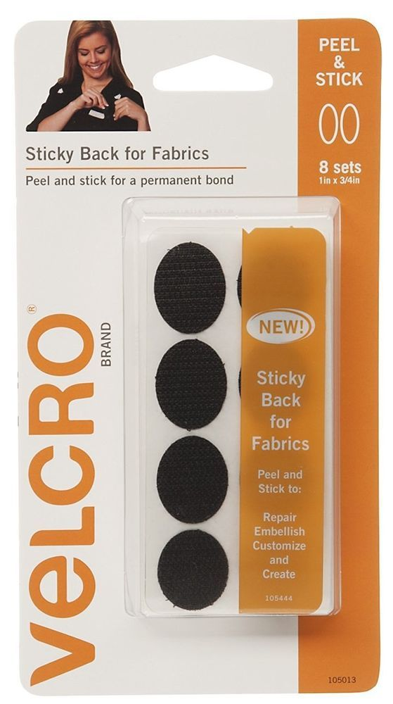 Sticky Back Velcro Fabric Sticker Craft Supplies Fabric Adhesive Tools Fabric…