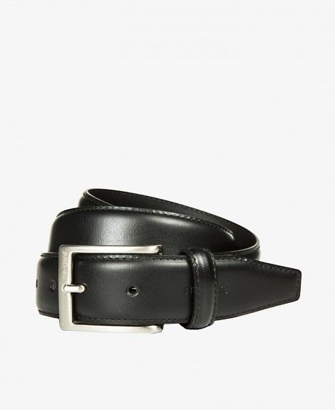Bonded leather belt, stitched, Made in Italy, with square metal buckle and Navigare logo | Navigare