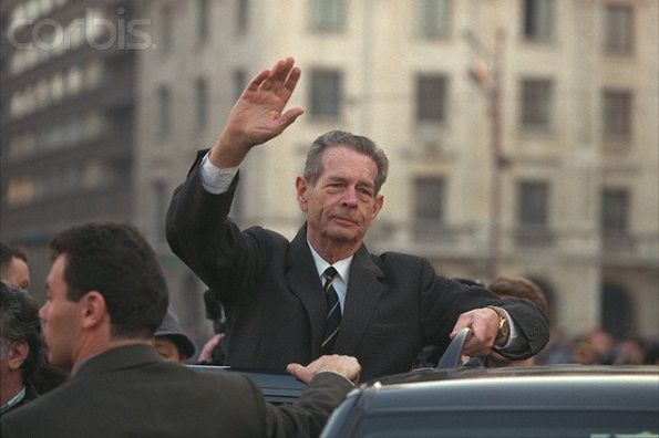RETURN OF KING MICHAEL OF ROMANIA TO BUCHAREST