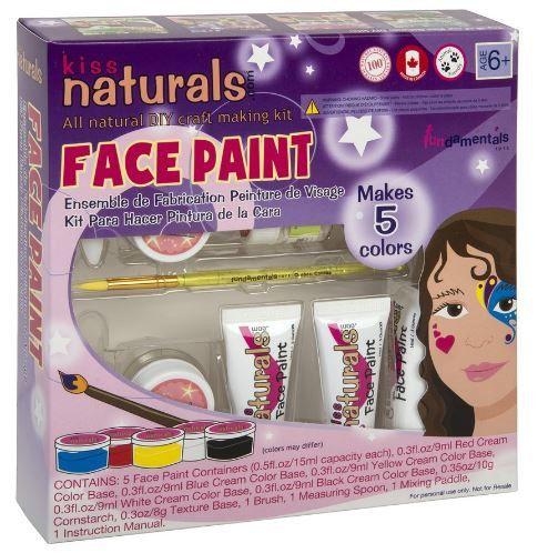 Kiss Naturals - Face Painting Kit