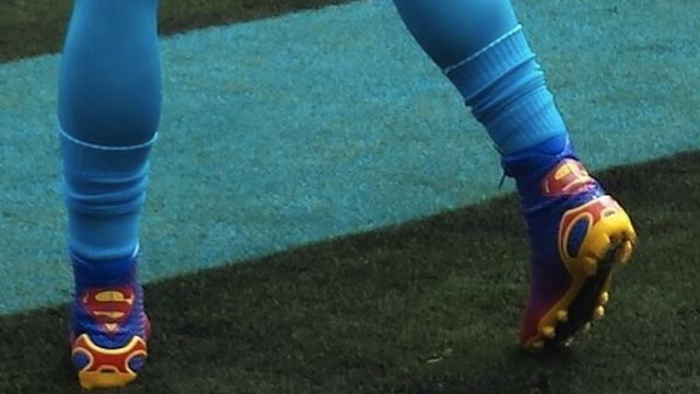 Superman Cleats!