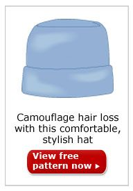 Easy Hats Camouflage hair loss with this comfortable stylish hat..sew for those patients who are in need for local cancer centers.