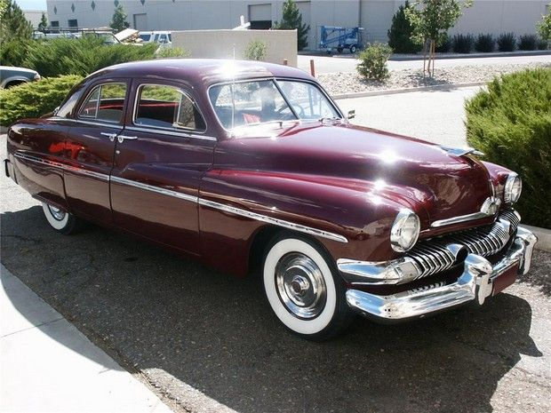 1951 mercury custom 302 v8 4 door mercury pinterest for 1951 mercury 4 door sedan