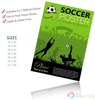 Print cheap posters for your business