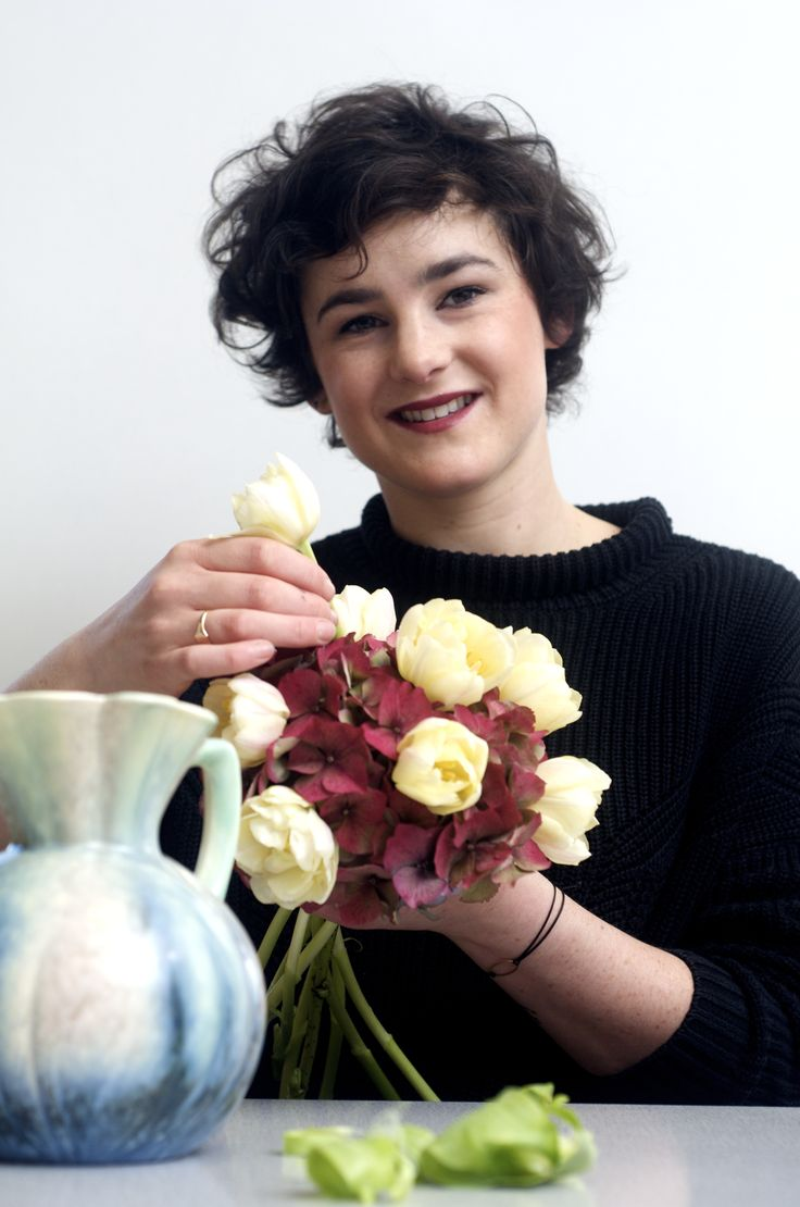 Floristry apprentice Hannah attends College once a week and works at The Hedgerow Florists in Skipton. 'My employer has been terrific with me and has encouraged me to be more creative,' says Hannah.
