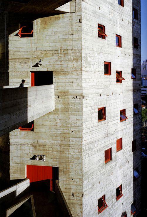 ArchitecturePasteBook.co.uk (subtilitas: Lina Bo Bardi - SESC, the conversion...)