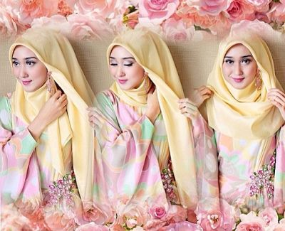 Tutorial Hijab Pashmina Untuk Pesta Ala Dian Pelangi #Hijab #HijabTutorial #HijabIndonesia #BusanaMuslim www.hafana.com