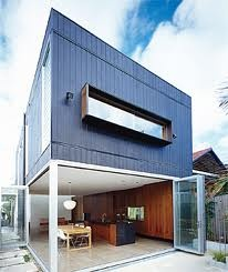 Plywood cladding  http://selector.com/au/suppliers/carter-holt-harvey-woodproducts/products/shadowclad-plywood-cladding-2