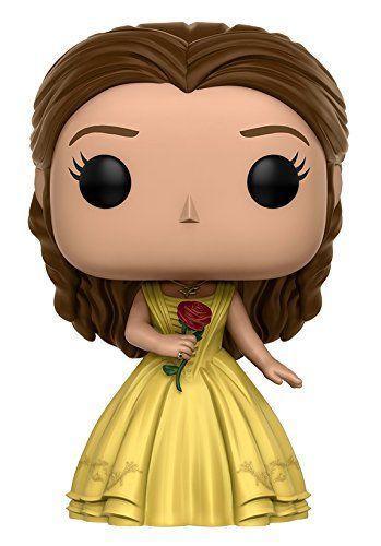 Funko Pop! Film Disney: La Belle et La Bête ( Beauty & the Beast ) - Belle robe jaune Figurine: Amazon.fr: Jeux et Jouets