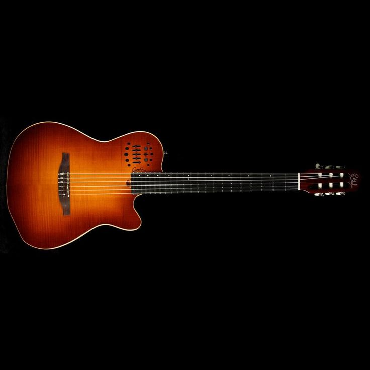 Godin Multiac ACS-SA Nylon String Electric Guitar Lightburst – The Music Zoo