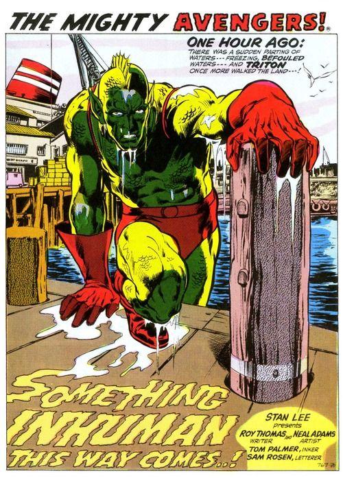 AVENGERS #89-97: The Kree-Skrull War (1971-1972) - Berkeley Place