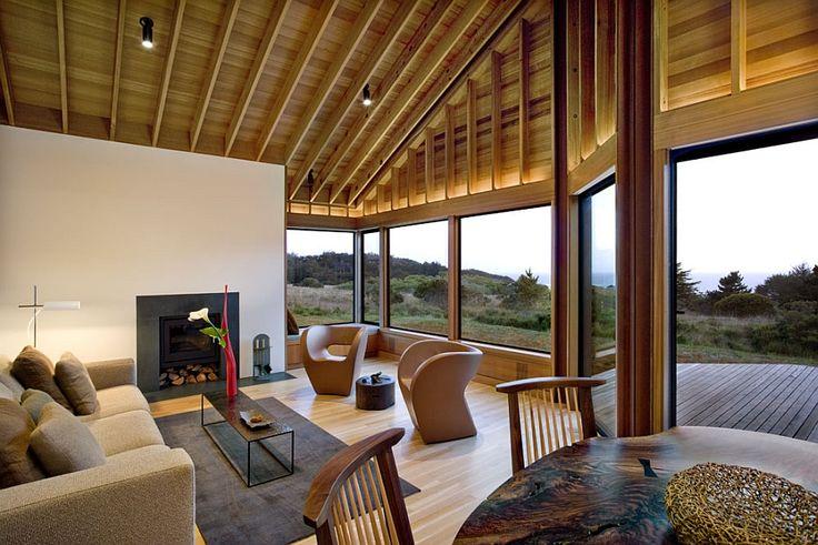 Contemporary decor inside the Sea Ranch Residence. #Architecture #interiordesign
