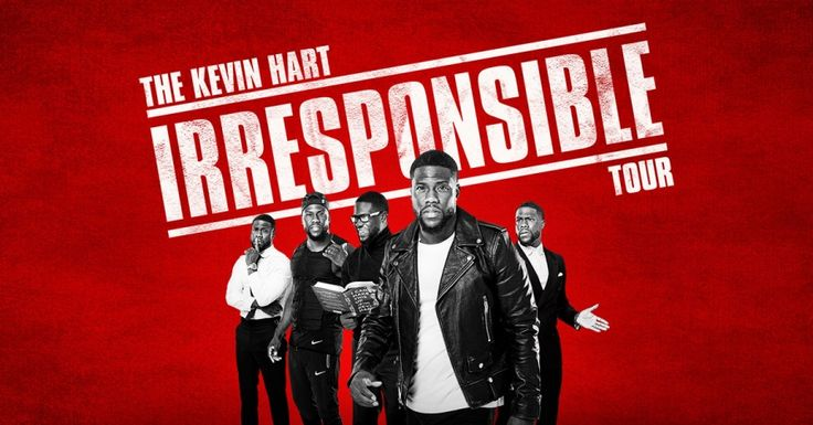 "#ICYMI: KEVIN HART Will Now Be ""Irresponsible"" on Over 100 More Tour Dates... via @therockfather"
