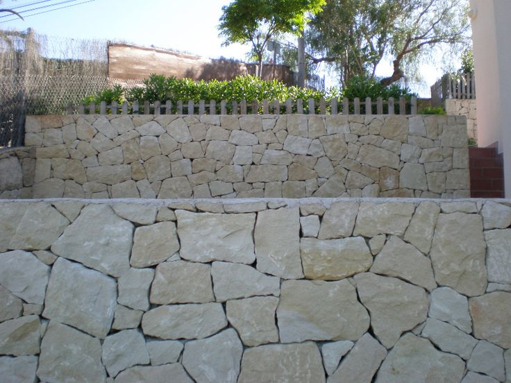 M s de 1000 ideas sobre muros de contenci n en pinterest - Muros de piedra natural ...