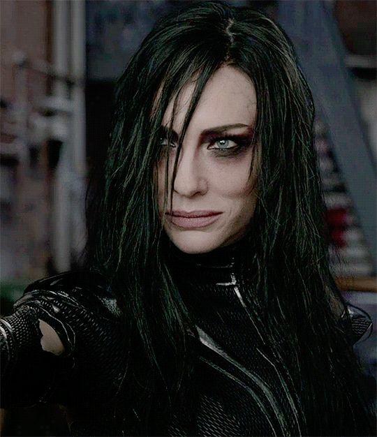 Cate Blanchett in Thor.
