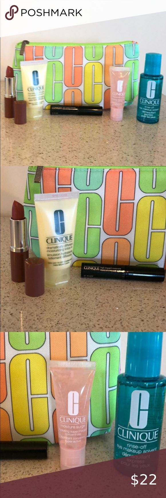 NWOT Clinique bag with goodies NWOT Brand New 2020