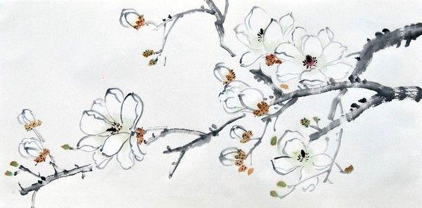 китайская живопись овощи - Поиск в Google